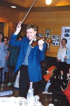 Houslista Pavel Eret - housle sólo, 1999