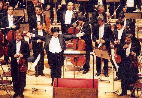Pavel Eret s Nagojskou filharmonií, 2000