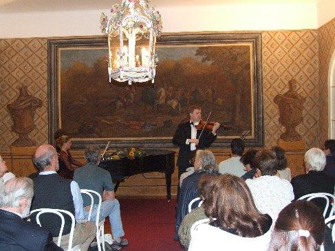 Pavel Ereta a Suzanna Hlinka na Bertramce v Praze, 2006