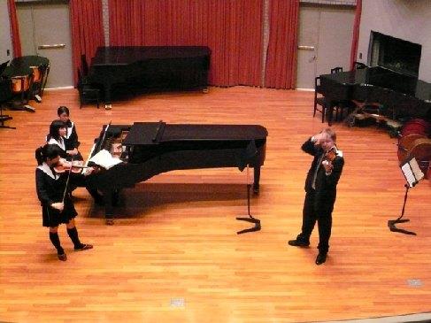 Houslista Pavel Eret vede speciální houslové kurzy