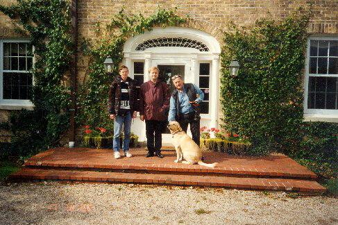 V Chicagu jsme byli ubytováni u přátel, 1997