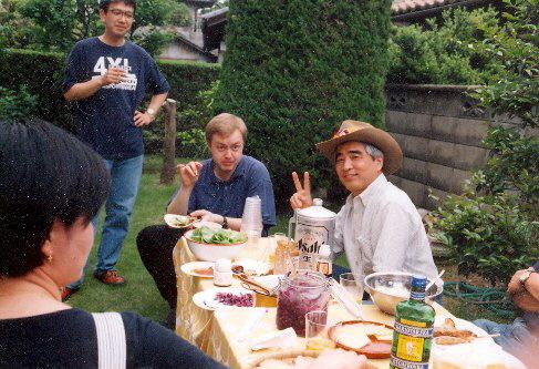 V Nagoji pro mě uspořádali párty, 1998