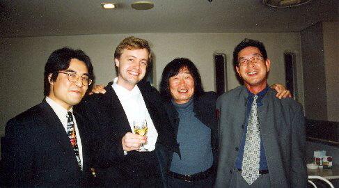 Houslista Pavel Eret a dirigent Ken-Ichiro Kobayashi