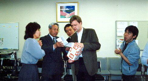 Překvapili mě i milým darem, 2001