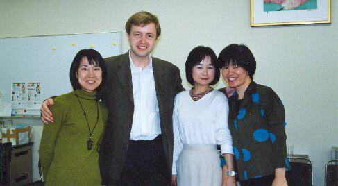 S kolegyněmi z houslové sekce, 2001