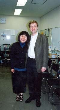 S houslistkou Chinami Takeda, 2001