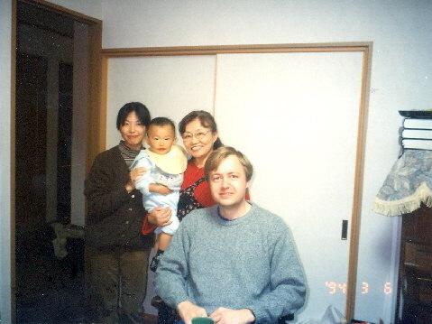 U přátel Nagamineových v Nagoji, 2003