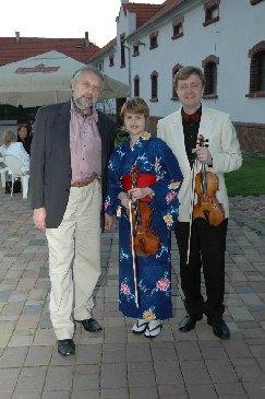 Pavel Eret, Věra Eretová a Jaroslav Vodňaský, 2006
