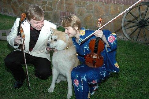 Pavel Eret, Věra Eretová a fenka Sakura, 2006