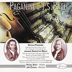 N. Paganini, J. S. Bach